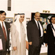 Khaldoun with Moodhi Al Humood, Amer Al Tamimi and unknown. Kuwait