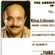 Khaldoun's ID card. The American University of Cairo
