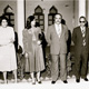 Khaldoun with Rasha Al Sabah, wife Eqbal Alessa and others