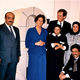 Khaldoun with mother- in-law Taiba Al Subaie(center) and her son Abdulrahman Alessa, and friends. Germany