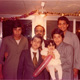 Khaldoun with Emad Alessa, Alhareth Alkhaled, son Zaid Alnaqeeb, daughter Saba Alnaqeeb and other. Kuwait. 1978
